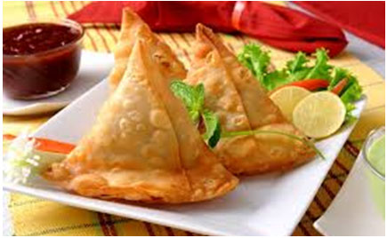 HOW ABOUT SOME HOT SAMOSAS THIS WEEKEND?